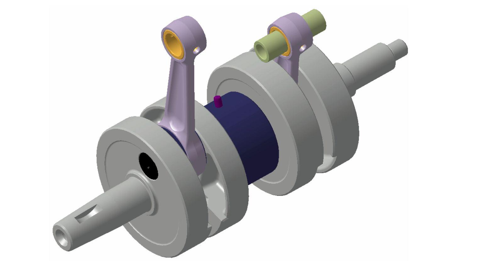 Mechanizm korbowy-2